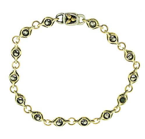 TheFACELESSMAN double wrap Gold Bracelet / Choker