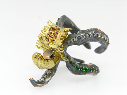 Spider Orchid Ring