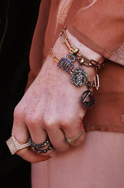 Symbol of Beauty Charm Bracelet
