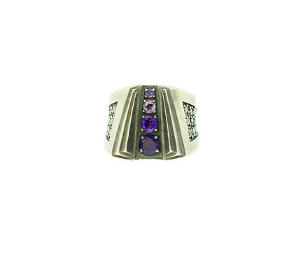 Purple Haze Ring