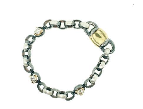 ManVSWoman diamond claw bracelet