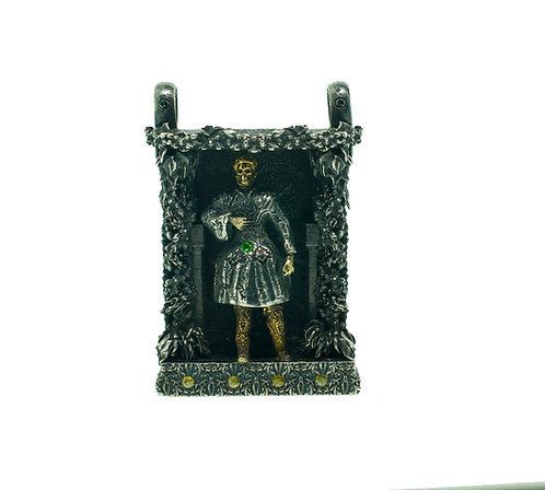 St Albertus On Stage Pendant