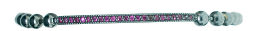 Pitchblack Stretchable Ruby Bracelet