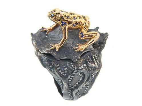 DART FROG Rose Gold RING