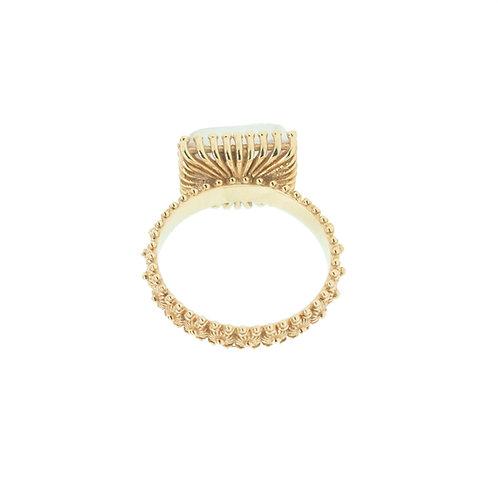 18K Gold Sardinian Ring(Medium)
