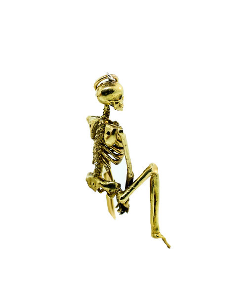 Pole Dancer Skeleton Pendant
