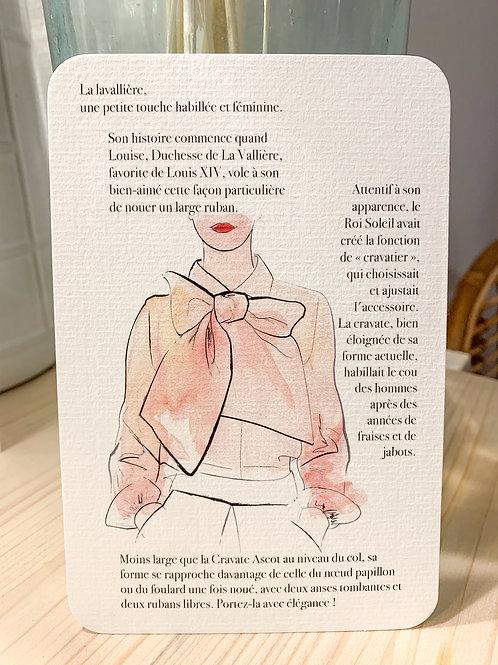 Carte postale Lavallière