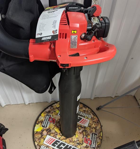 Echo ES-250 Shred n' Vac Leaf Blower Shredding Vac