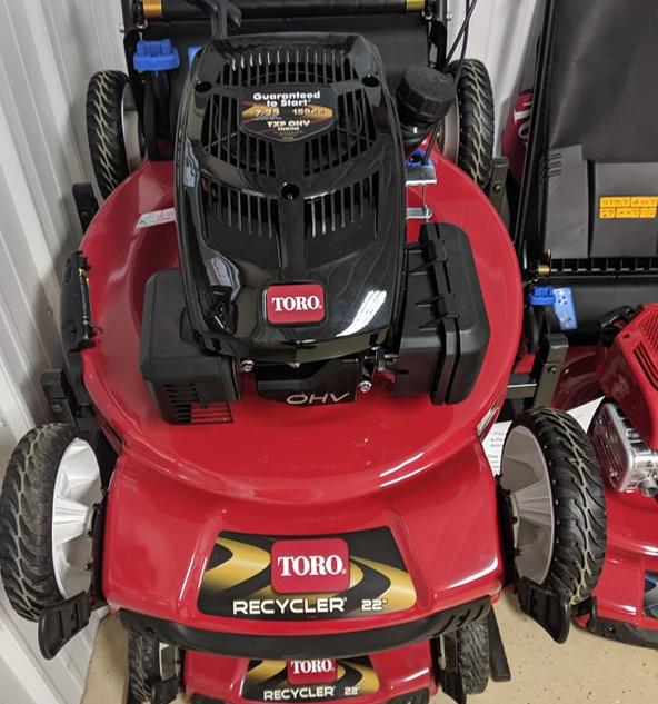 "Toro Recycler Walk Power Mower 22"" Deck"