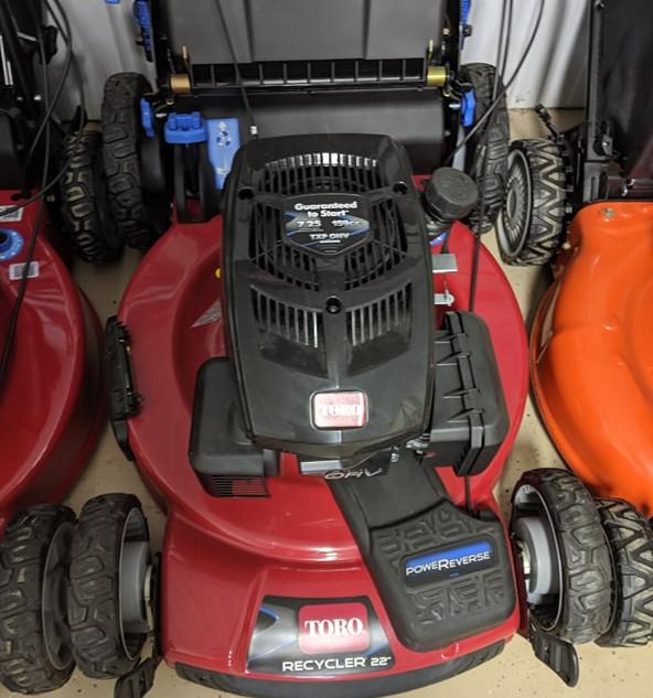 "Toro PoweReverse Walk Power Mower 22"" Deck"