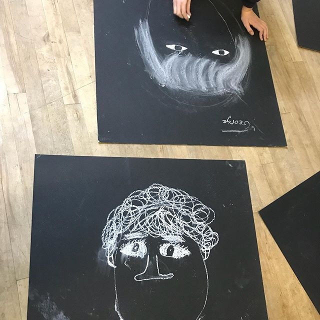 More Portraits for Inky Forest Art Club