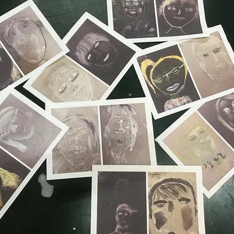 #portraits from #ashburtonarts #artsclub