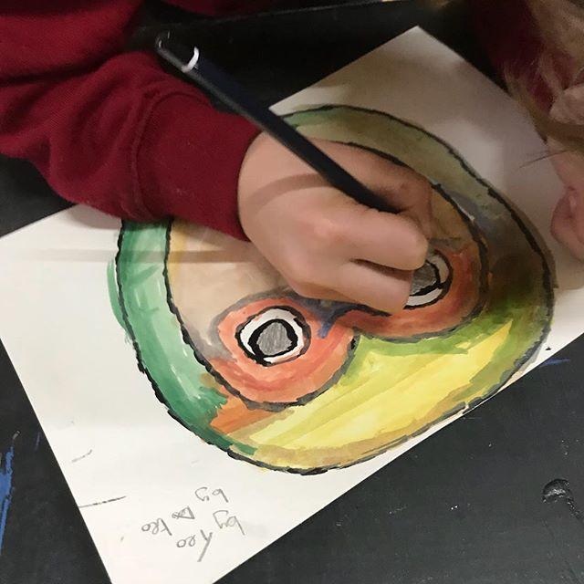 Designing and beginning to make masks at