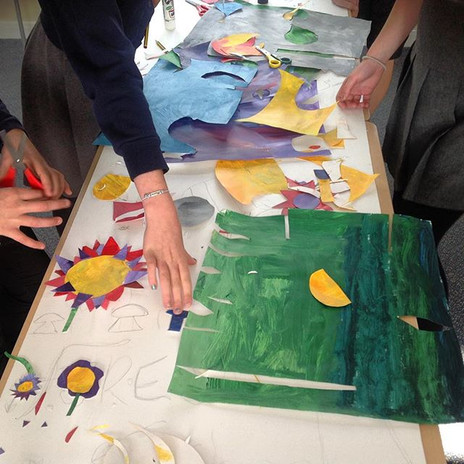 #flagdesign with Goodleigh Primary Schoo