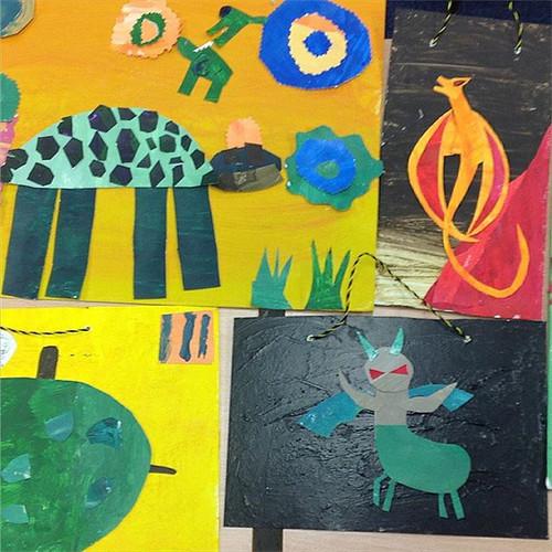 #creatingcreatures part of an #artsproje