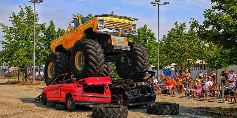 Monster-Truck-Show in Mittweida