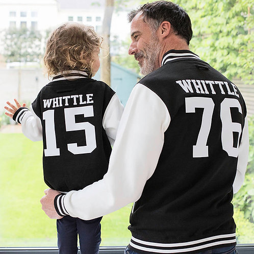 Parent And Child Varsity Jackets
