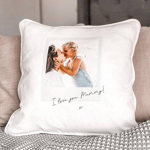 Personalised Photo Cushion For Mum