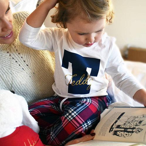 Personalised Kids Personalised Pyjamas