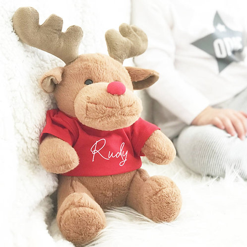 Rudy The Reindeer First Christmas Soft Toy