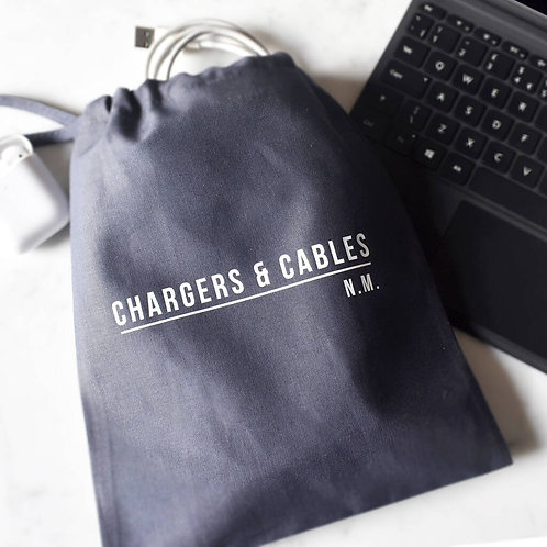 Monogram Chargers And Cables Bag