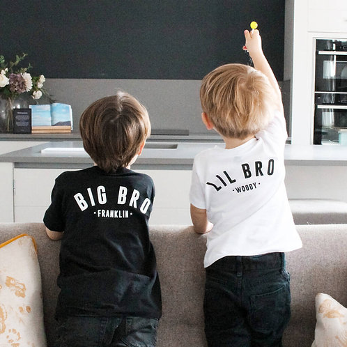 Big Bro, Lil Bro Matching T Shirts