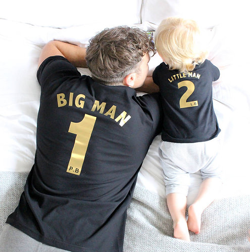 Black and Gold Football T shirts