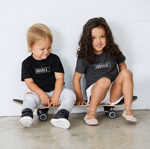 Double Trouble Unisex Sibling T Shirts