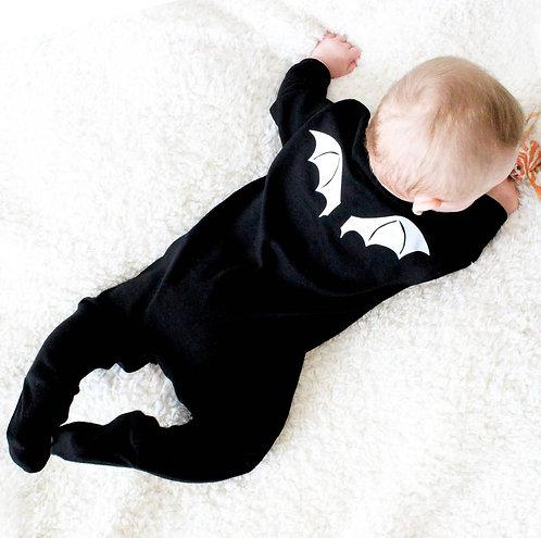Bat Wings Baby Halloween Sleepsuit