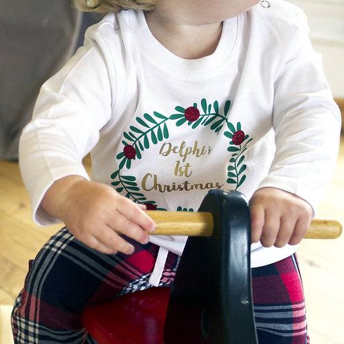 'First Christmas' Personalised Pyjamas