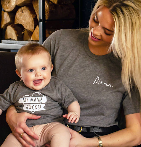 'My Mama Rocks' Mother And Child Set