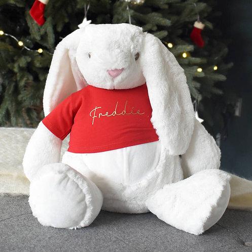 Personalised Luxury Christmas Bunny