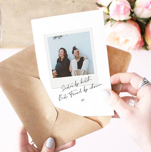 'Sister By Birth, Best Friend By Choice' Card