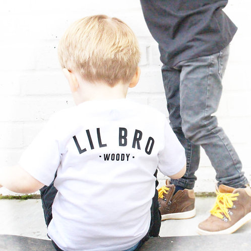 'Lil Bro' Personalised T Shirt