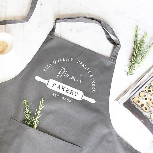 Personalised Bakery Apron