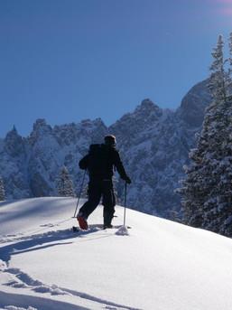 Auf Skitour im zentralen Karwendel