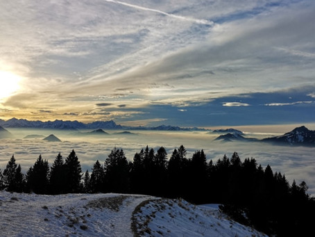 """Das """"richtige"""" Motiv zum Bergsteigen"""