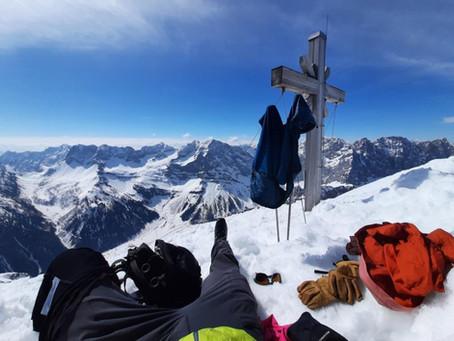 Skitour Gamsjoch 2452m