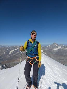 Am Gipfel des Breithorns