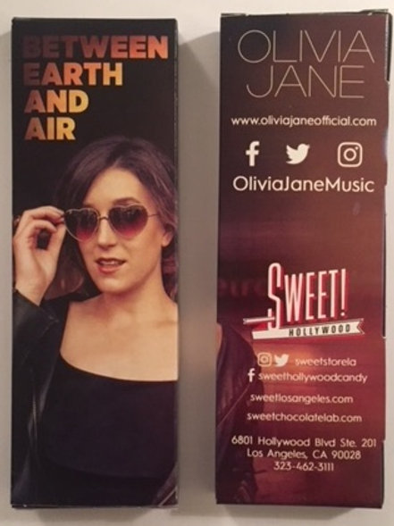 Olivia Jane MILK Chocolate Bar - by Sweet Hollywood