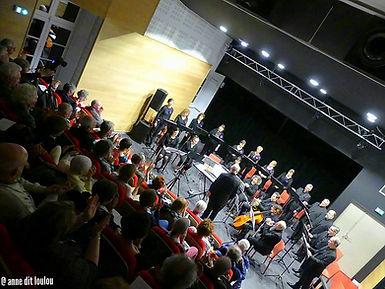 Premier concert public à l'Auditorium de Figeac  