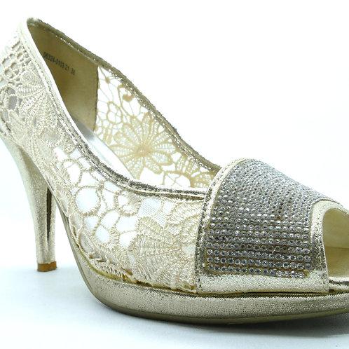 SEMBONIA Gold Shoes
