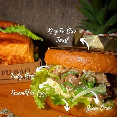 XING FU BAO Mongolian Beef Toast