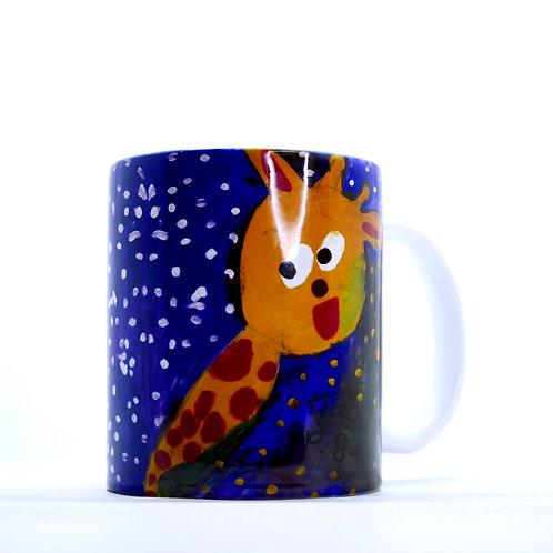 RAYSHA MERCHANDISE Gelas Giraffe / Jerapah