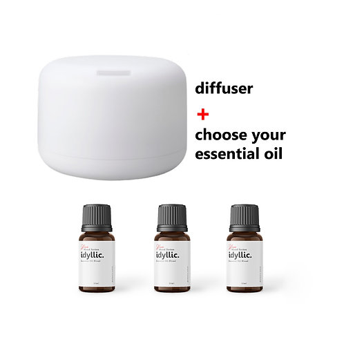 ALANIS SENSE Bundle Diffuser & Essential Oil ALANIS Natural Aromatherapy