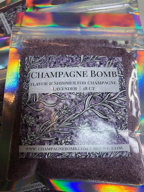 Lavender Champagne Bomb