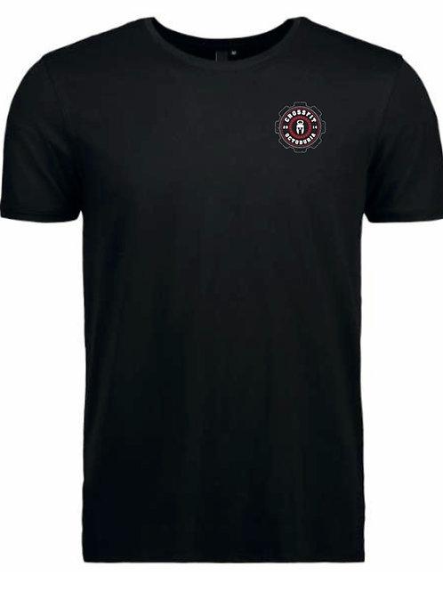 T-Shirt Homme Noir vue de face - CrossFit Octoduria