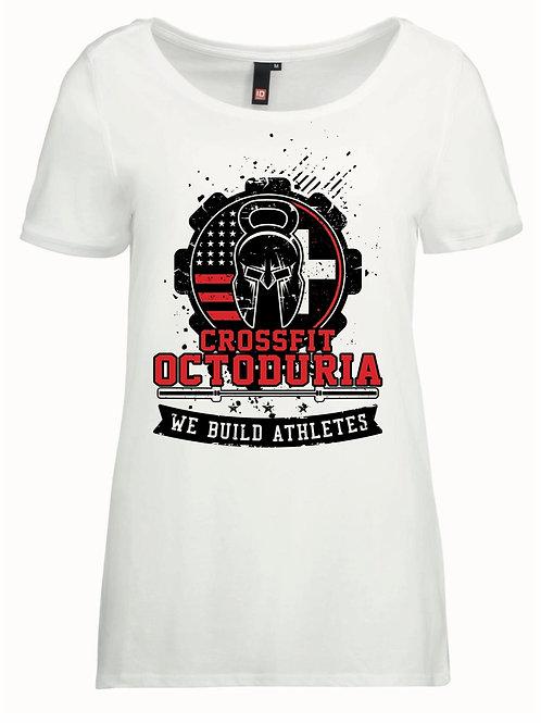 T-Shirt Femme blanc vue de face - CrossFit