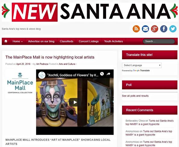 NEWS SANTA ANA