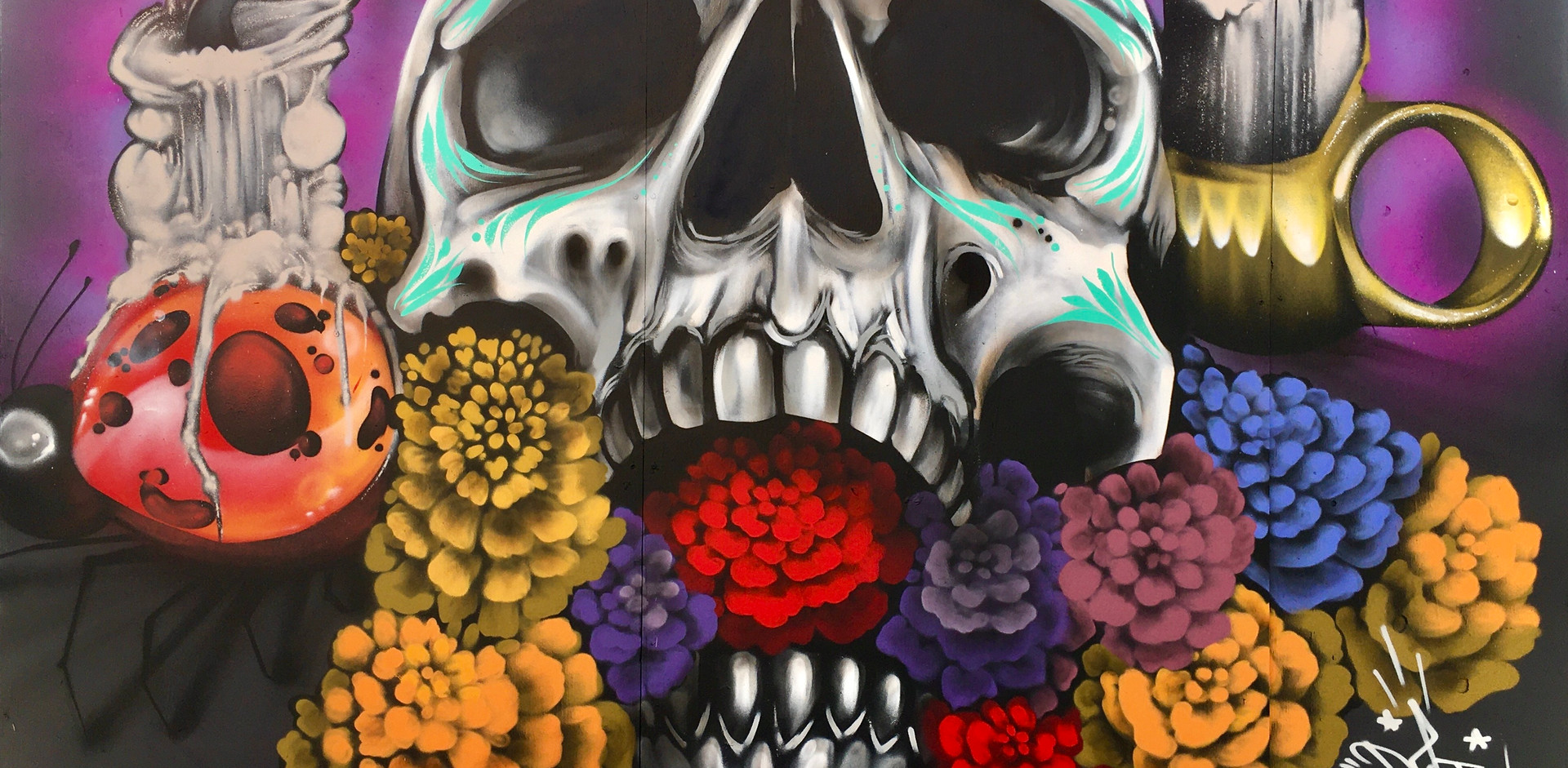 """La Ofrenda"" Art Alley New Mural"